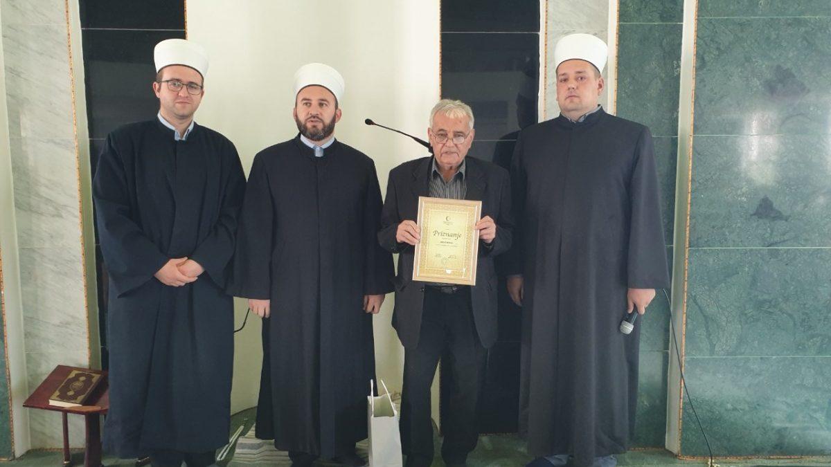 Tuzla: Uručena priznanja za dugogodišnje zalaganje i doprinos u radu džemata