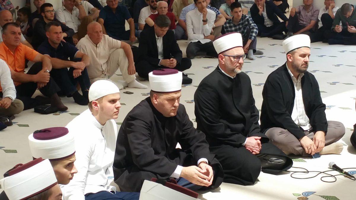 Hafiska dova profesoru Behram-begove medrese Asmiru Imamoviću