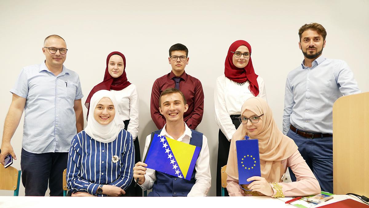 U Behram-begovoj medresi održana centralna debata projekta Moje mjesto u EU
