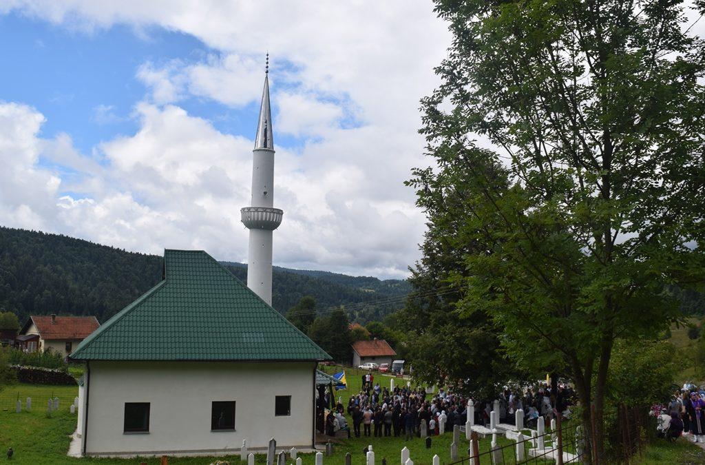 Otvorena džamija u džematu Nevačka (MIZ Vlasenica)