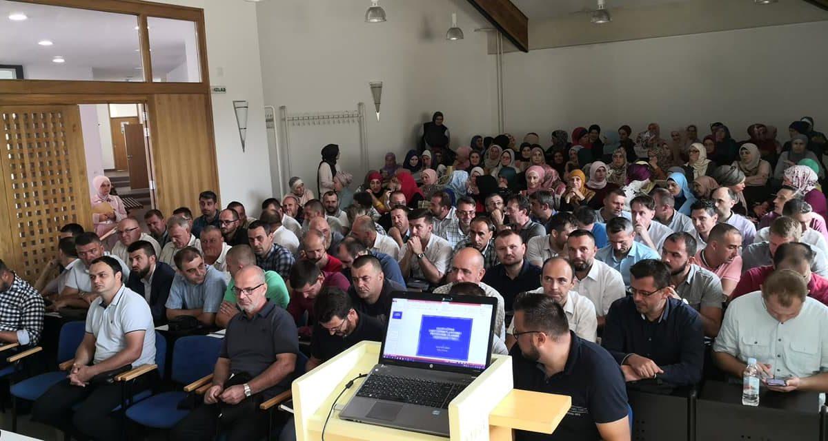 Seminar za nastavnike i profesore Islamske vjeronauke s područja Muftiluka tuzlanskog