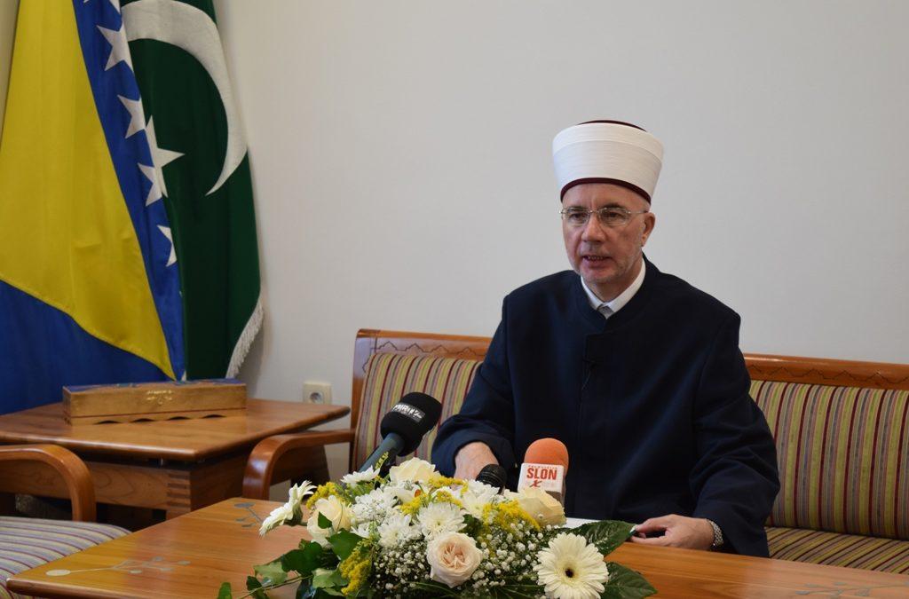 Čestitka muftije Vahida-ef. Fazlovića na Kurbanski bajram 1440/2019. godine