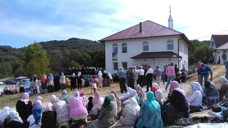 Otvoren mekteb u Tulićima, džemat Glumina (MIZ Zvornik)