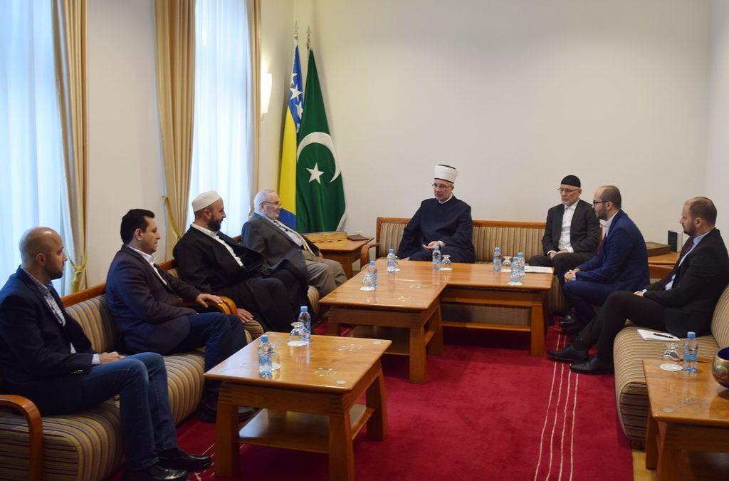 U Muftijstvu tuzlanskom upriličen prijem za uglednog alima dr. Muhammeda Ratiba En-Nabulsija