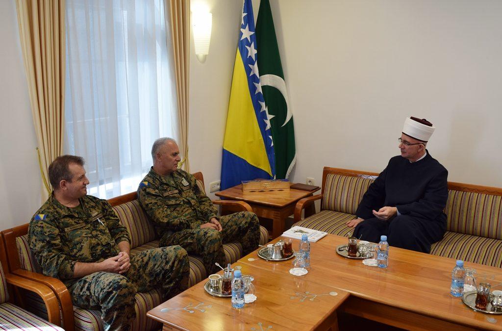 Muftija Fazlović primio brigadira Kasima Mešića