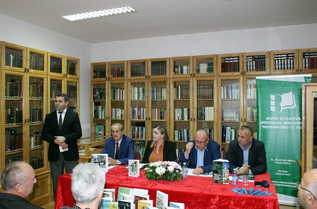 """U Biblioteci """"Behram-beg"""" promovirane tri knjige u izdanju Biblioteke """"Dositej Obradović"""" iz Novog Pazara"""