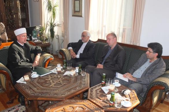 Muftija Fazlović se susreo s iranskim ambasadorom