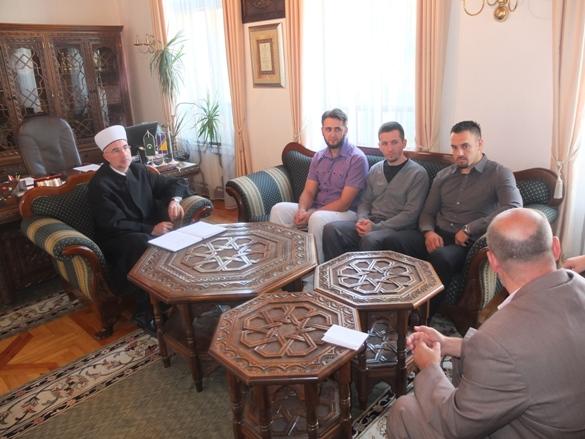Udruženja iz Gradačca i Gračanice kod muftije