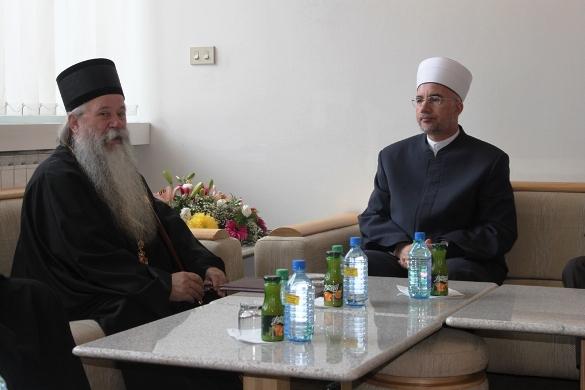 Susret muftije tuzlanskog i episkopa zvorničko-tuzlanskog