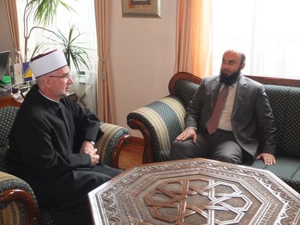 Muftija primio atašea za vjerska pitanja Ambasade Kraljevine Saudijske Arabije