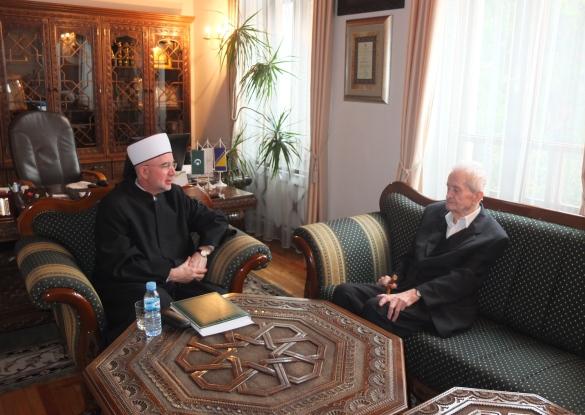 Ugodan susret s dr. Salihom Burekom