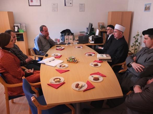 Muftija tuzlanski u Novoj Kasabi, Srebrenici i Bratuncu