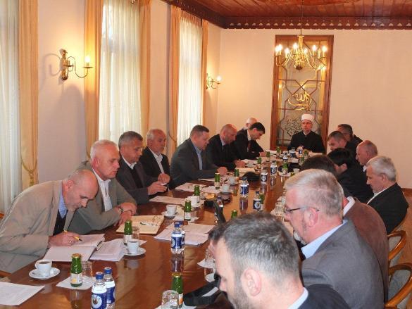 Održana sjednica Savjeta muftije tuzlanskog