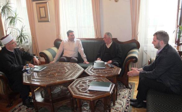 Predstavnici Medžlisa Živinice u posjeti muftiji