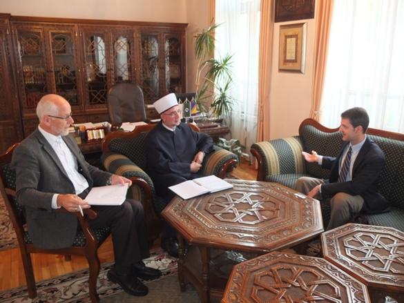 Šef političkog odjela Ambasade SAD-a kod muftije