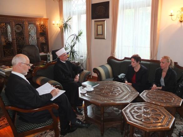 Lotosice upoznale muftiju Fazlovića sa svojim aktivnostima