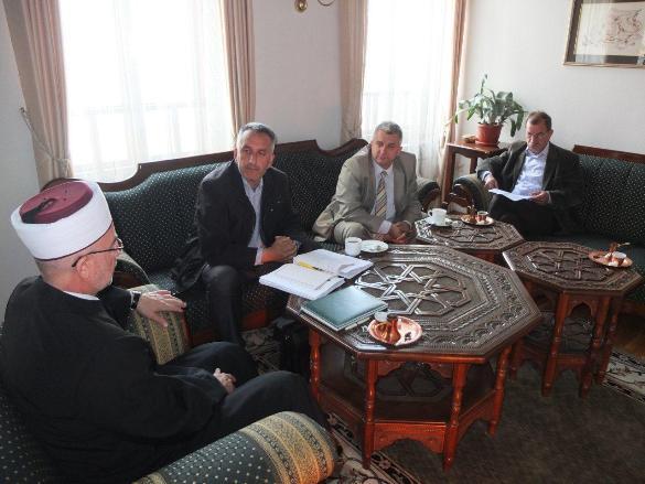 Nastavljaju se radovi na izgradnji Islamskog centra u Lukavcu