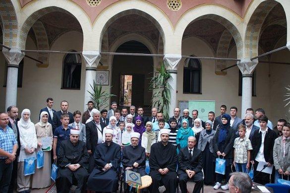 Finalno mektebsko takmičenje 2014: Prvo mjesto Mostarskom muftijstvu