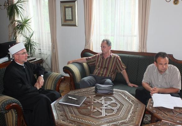 Muftija Fazlović i ministar Kunić razgovarali o unapređenju nastave islamske vjeronauke