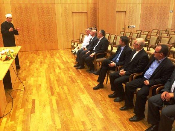 Delegacija Muftijstva tuzlanskog posjetila Islamsku zajednicu u Hrvatskoj