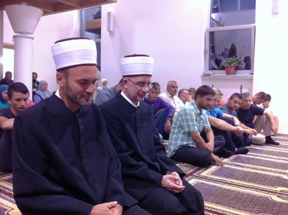 Muftija Vahid-ef. Fazlović u Bosanskom Šamcu