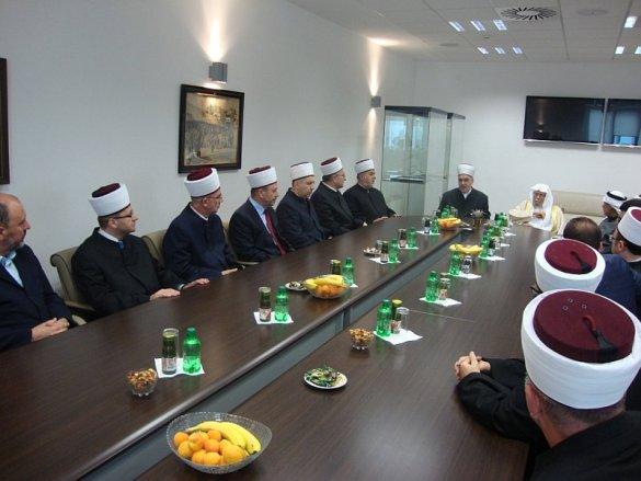 Reisu-l-ulema Kavazović i dr. Turki se sastali sa muftijama