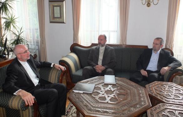 Susret tuzlanskog i travničkog muftije