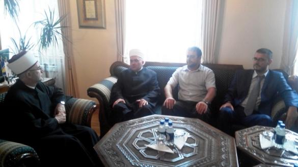 Dobra saradnja Muftijstva tuzlanskog i Mešihata IZ-e u Srbiji