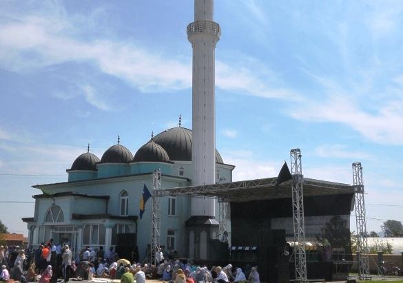 Svečano otvorena džamija u Janji, džemat Palutine