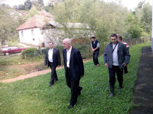 Muftija tuzlanski u posjeti poplavljenom Srebreniku
