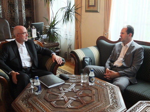 Predsjednik Sabora i muftija tuzlanski razgovarali o prirodnim nesrećama u BiH