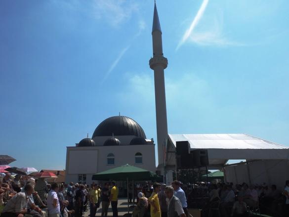 Otvorena džamija na Hajdarovcu