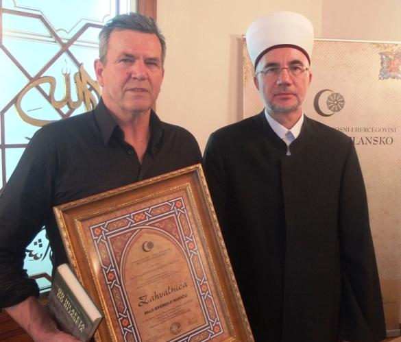 Ispraćen u penziju Mujo-ef. Husić