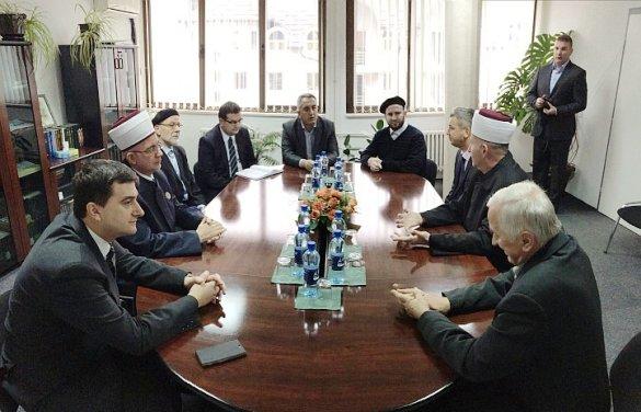 Posjeta delegacije Muftijstva tuzlanskog Muftijstvu goraždanskom