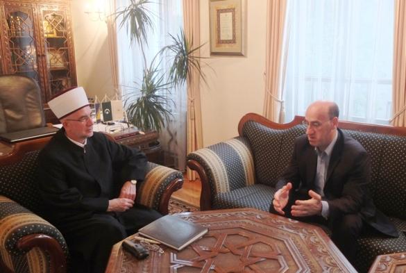 Muftija primio potpredsjednika Salkića
