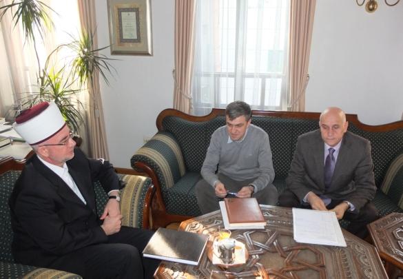 Šljivo i Mujić razgovarali s muftijom Fazlovićem