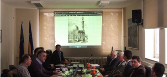 Razgovori o projektu obnove i restauracije Behram-begove (Šarene, Atik) džamije u Tuzli