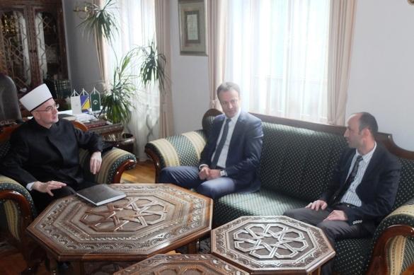 Predstavnici dviju istanbulskih općina posjetili Medresu