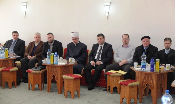 Susret muftije Fazlovića s tuzlanskim imamima
