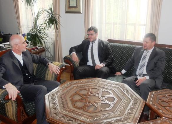 Muftija Fazlović se susreo sa direktorima Rebihićem i Zaimovićem
