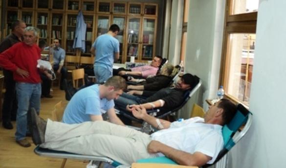 Uspješno realizirana akcija darivanja krvi