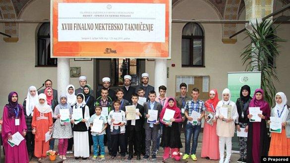 Dva prva mjesta za Muftijstvo tuzlansko na finalnom mektebskom takmičenju