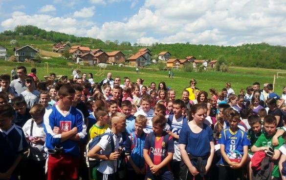 Sportsko takmičenje polaznika mekteba iz Srebrenika
