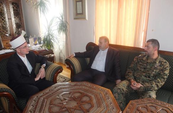 Susret tuzlanskog i vojnog muftije