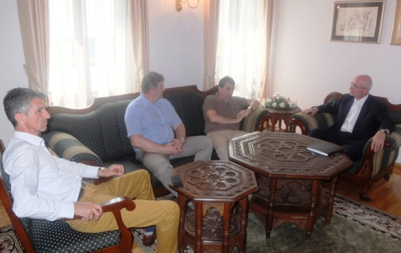 Muftija Fazlović se susreo sa ljekarima Centra za srce