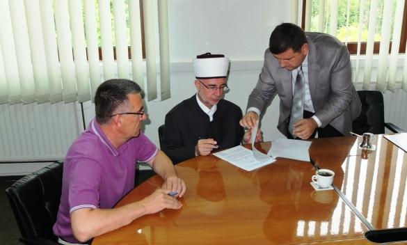 Potpisan sporazum o sanaciji klizišta u Sapni