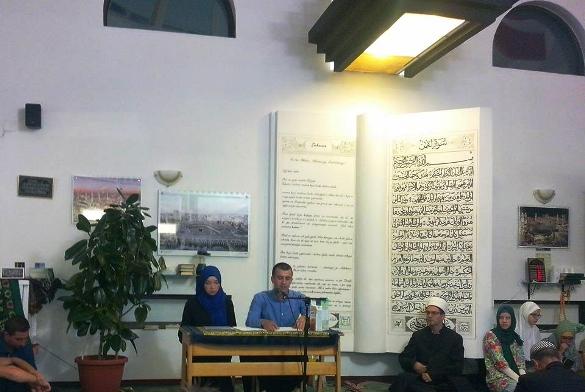 """Tribina pod nazivom """"Postom do zdravlja""""  u džematu Kiseljak, MIZ-e Srebrenik"""