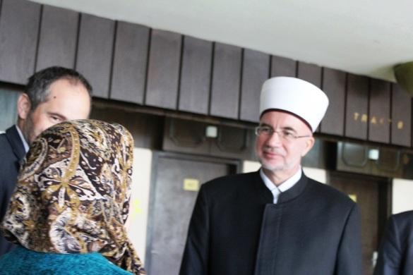 Međunarodni dan starijih osoba: Muftija tuzlanski u posjeti Domu penzionera Tuzla