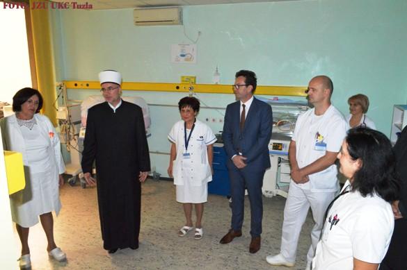 Muftija tuzlanski posjetio UKC Tuzla
