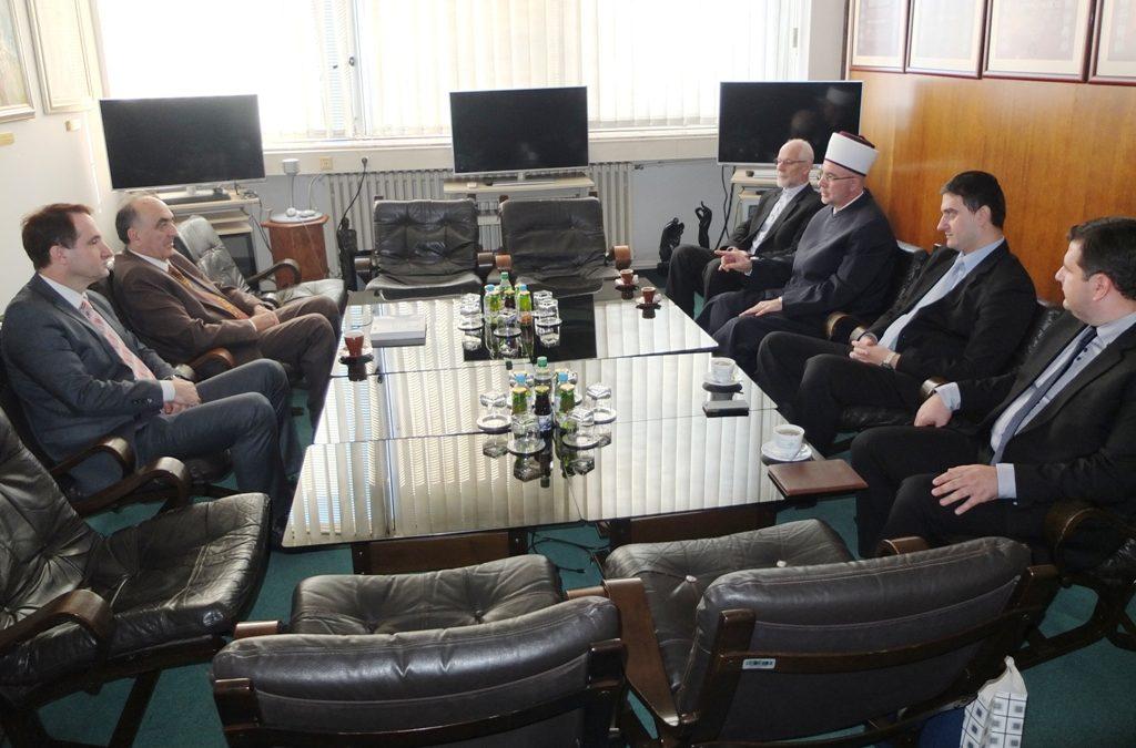 Muftija Vahid-ef. Fazlović posjetio Univerzitet u Tuzli
